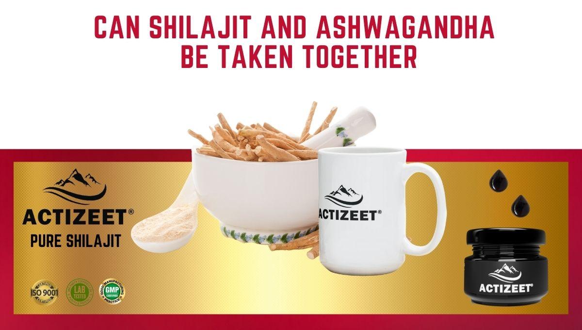 Can Shilajit And Ashwagandha Be Taken Together